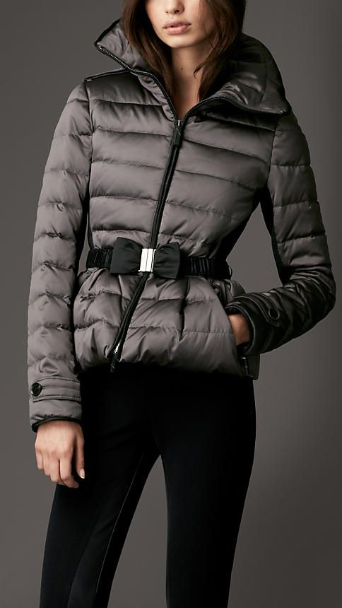 Burberry London Down-Filled Quilted Jacket