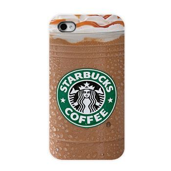 Wholesale 2014 Cool New Arrival Brand New Starbucks Ice Coffee Girl Protective Hard Mobile Phone Case Cover For Iphone 4 4S 5 5S #theperfectgift