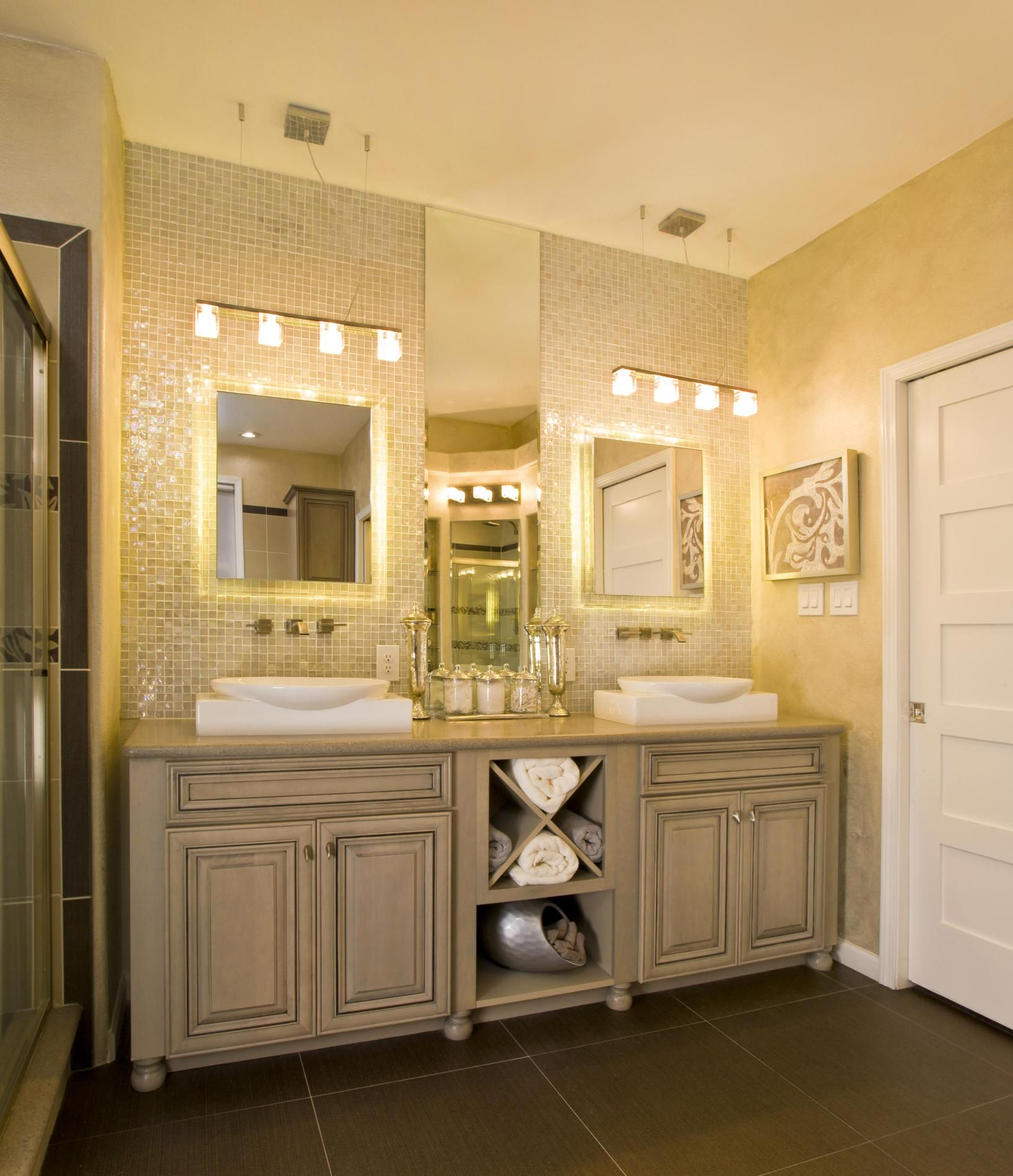 Bathroom lighting budget bathroom lighting bath lighting large bathroom vanity cabinets with double sink and lighting fixtures over mirror mozeypictures Choice Image