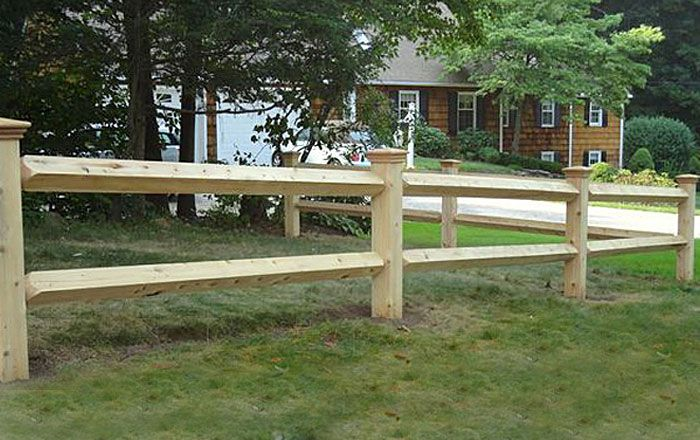 Manchester Post Rail Cedar Fence Gates West Hartford Fence Company Llc Fence Gate Cedar Posts Fence Design