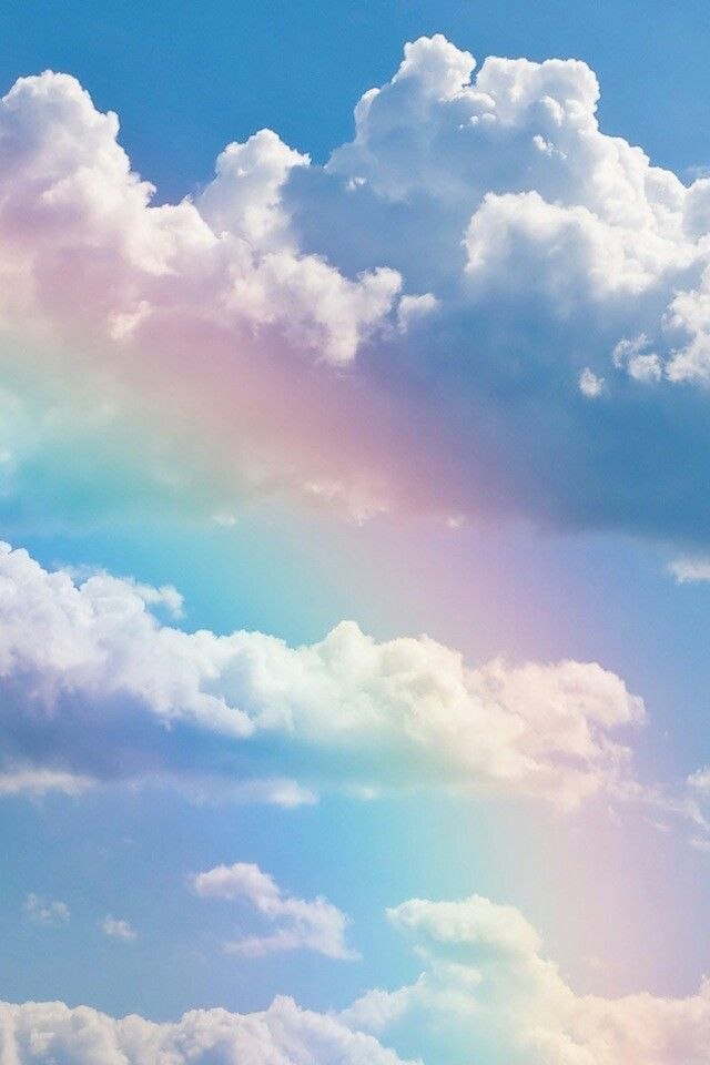 Clouds | Scenic | Clouds, Rainbow sky, Cloud wallpaper
