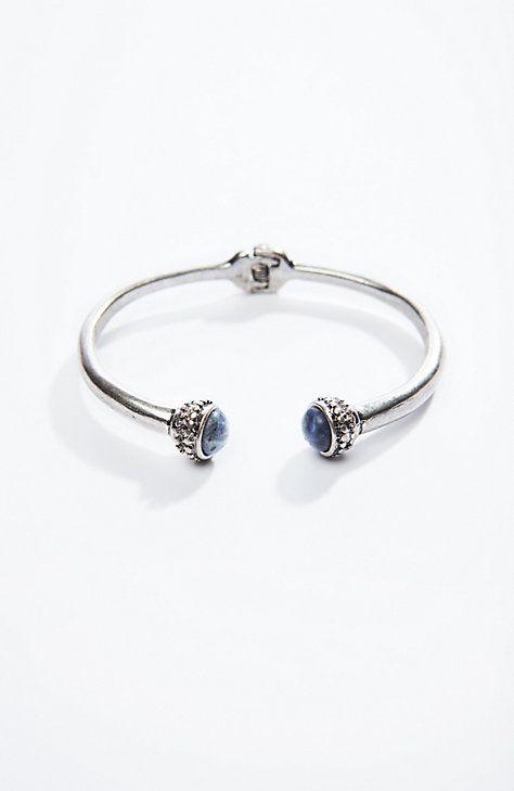 semiprecious cuff bracelet