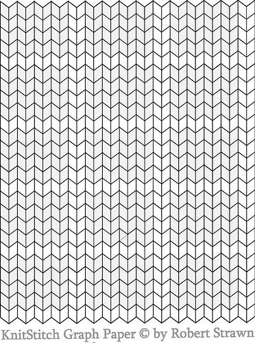 knit stitch graph paper small without ginger bunny dot com