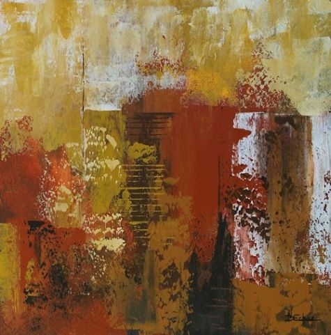 City motion nancy eckels artstract abwork pinterest for Contemporary oil paintings