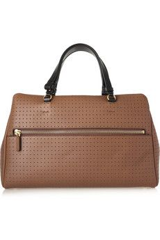 MARNI  Perforated leather tote