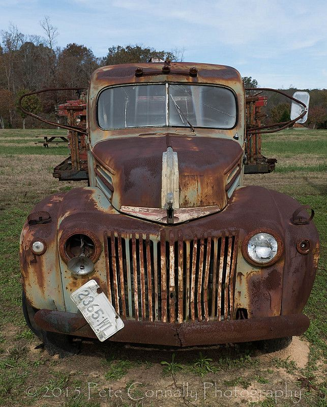 11-13-15 Simpson Farm Auto Graveyard In Talmo Georgia