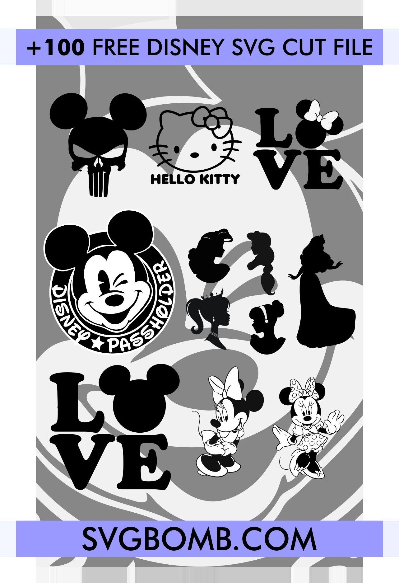 Disney SVG Bundles crafter handmade art etsy crafts