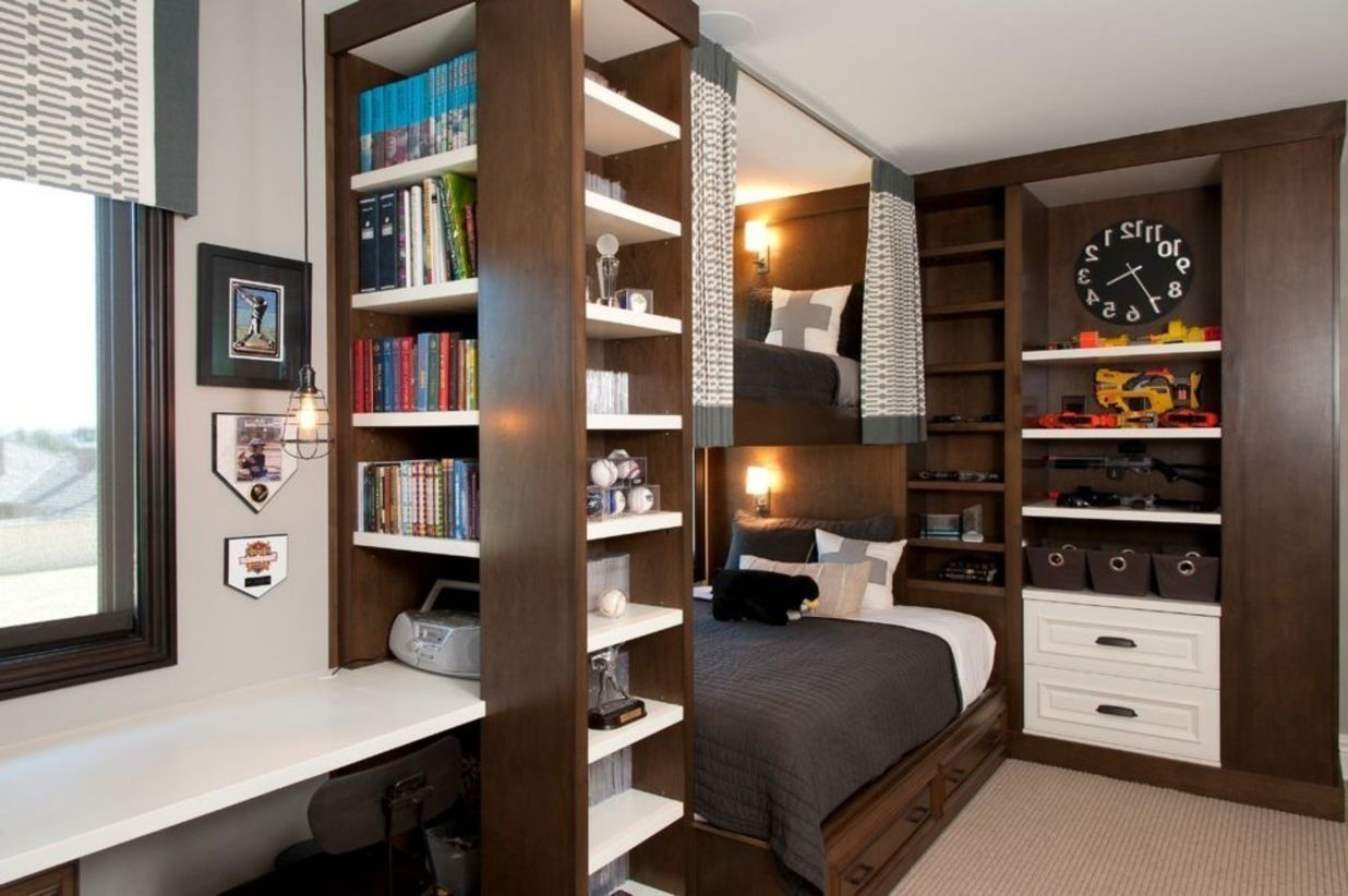 How Organized Small Bedroom Apartment Luxurious