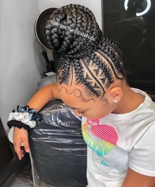 70 Beautiful Protective Hairstyles Perfect For The Festive Season Cute Braided Hairstyles Braided Bun Hairstyles African Braids Hairstyles