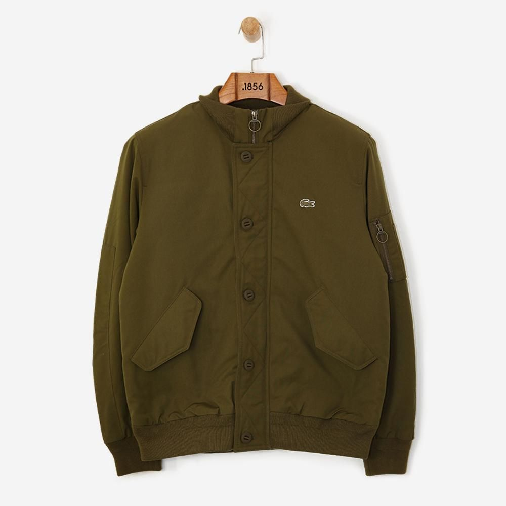 da0395384 Lacoste Contrast Finish Quilted Bomber Soldier Free SHIPPING OVER £50.00   grants  1856