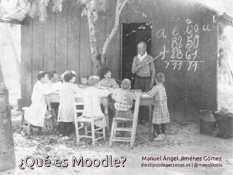 """Presentación del curso """"Moodle: Todo lo que necesitas para sacarle partido desde YA"""" Definición y descripción de las características de la plataforma Moodle y …"""