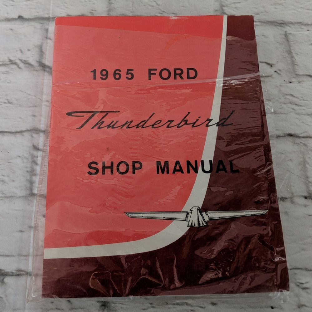 Details About Shop Manual Model T Service Repair Ford Book