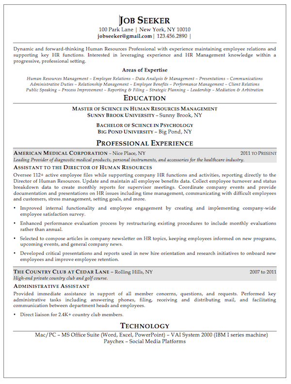 The 14 Things You Need On Your Resume To Land Your Dream Job Resume Examples Professional Resume Examples Resume