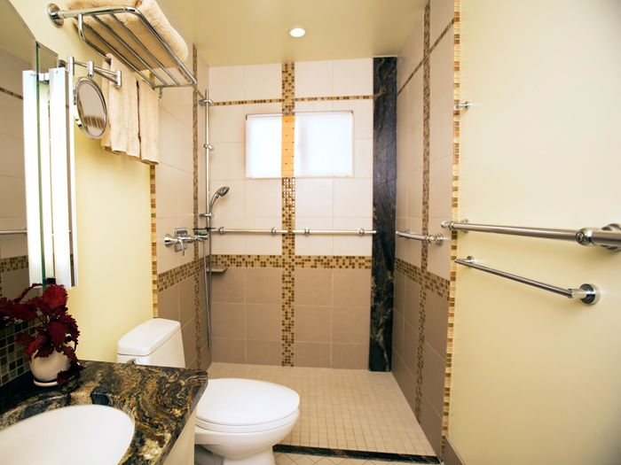 Ny ct handicap accessible bathroom design handicap access for Handicapped accessible bathroom plans