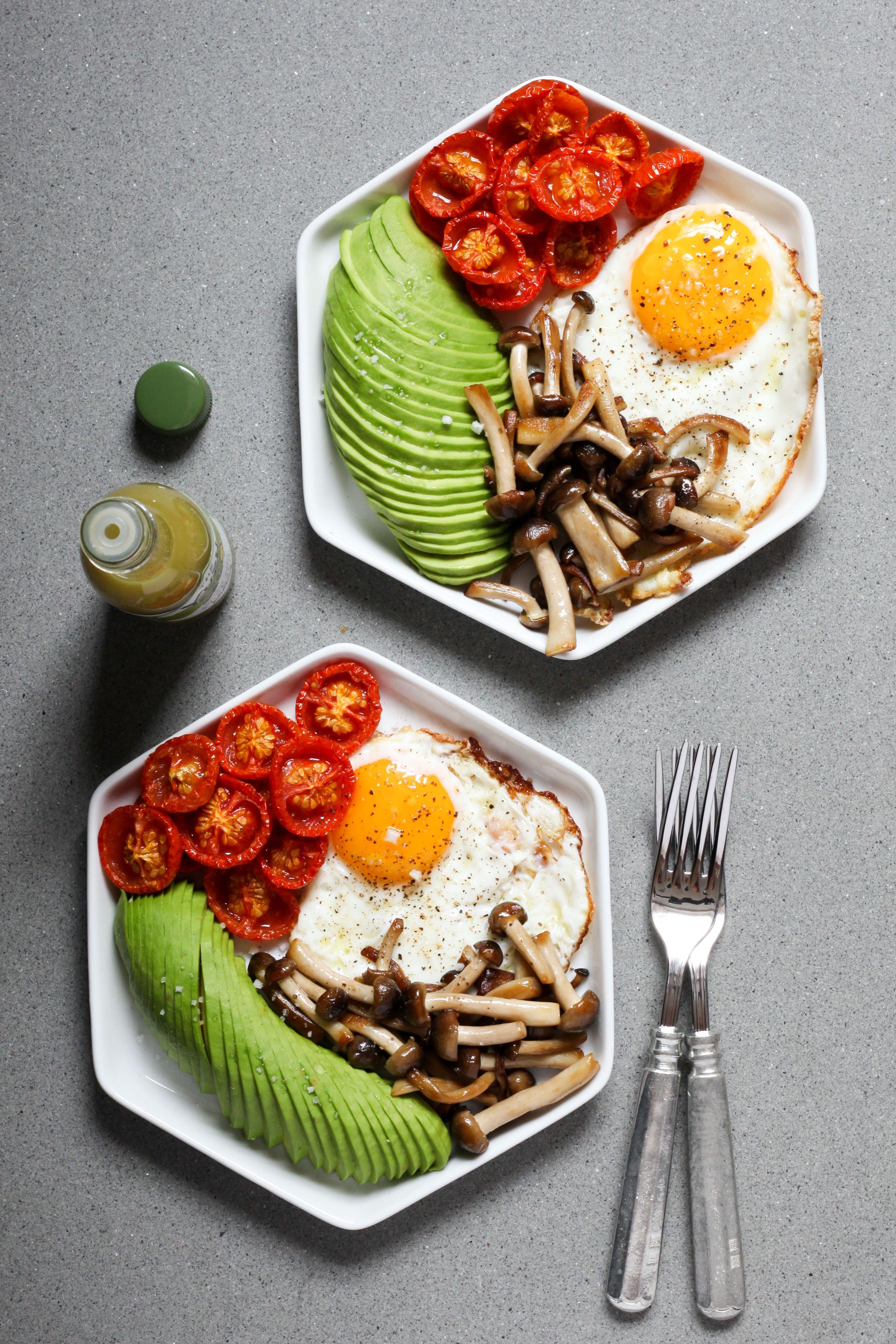 Avocado Recipes Toast Fried Eggs