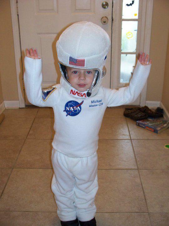 Astronaut Costume | Aqua May Designs | Pinterest ...