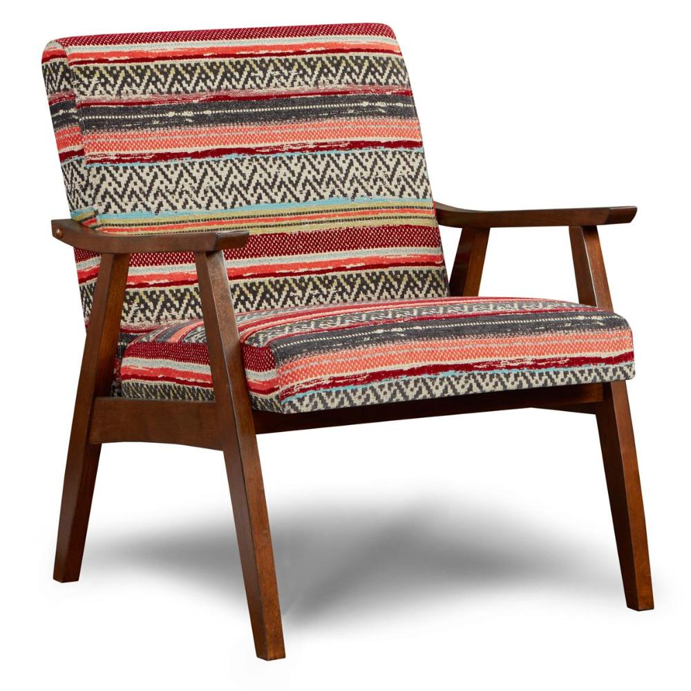 Xenia Wood Exposed Chair In Seville Cancun Nebraska Furniture