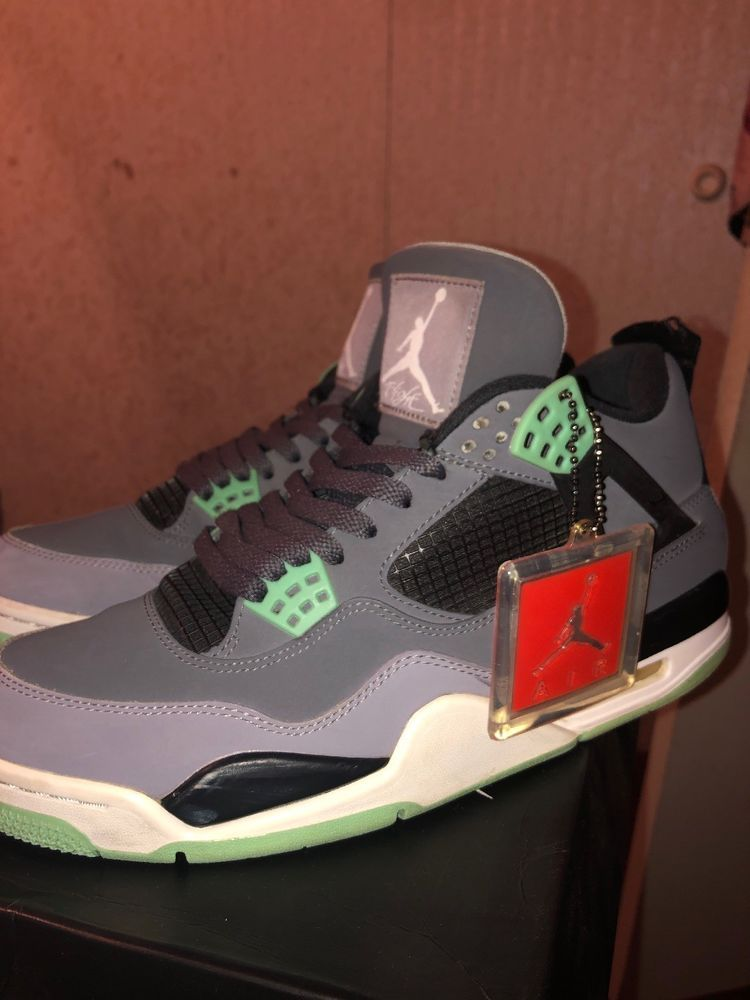 e716872a15b32d Nike Air Jordan 4 Retro - Green Glow - Mens Size 10 - 8.5 10 ...