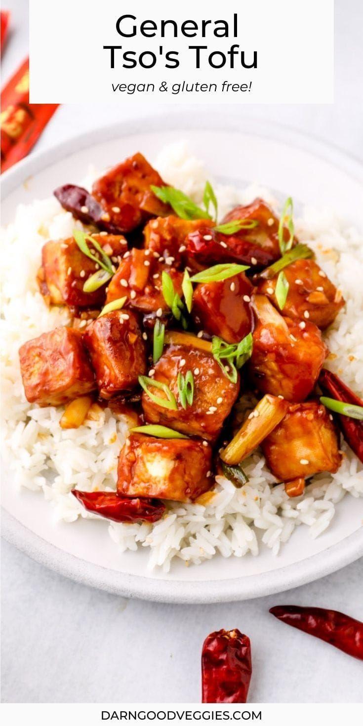 General Tso's Tofu | Darn Good Veggies