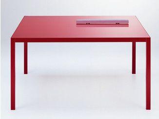Extension COULEURS en carrée aluminiumTable de table 3Rq54AjL