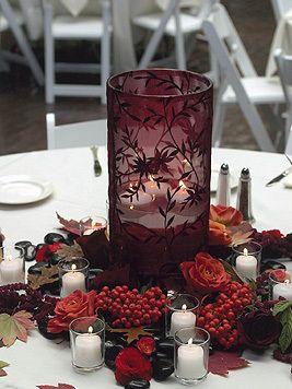 Photo Via In 2019 Burgundy Fall Wedding Centerpieces Wedding Vase Centerpieces Merlot Wedding