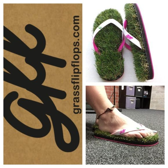 e9f975fc1 Grass flip flops Love these! I bought a pair for myself and then another  pair for my cousin