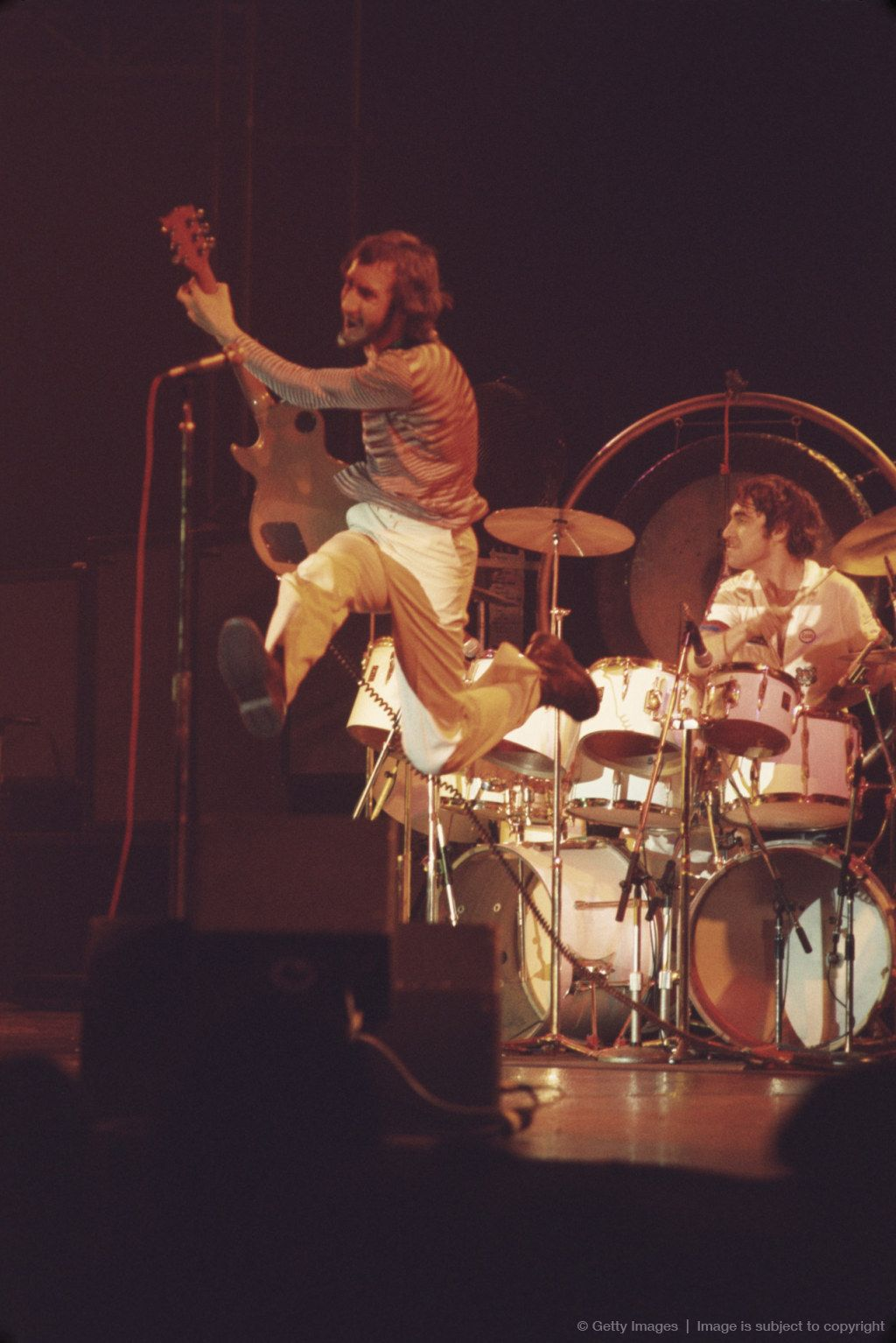 2389d86044878 Pete Townshend and Keith Moon of The Who