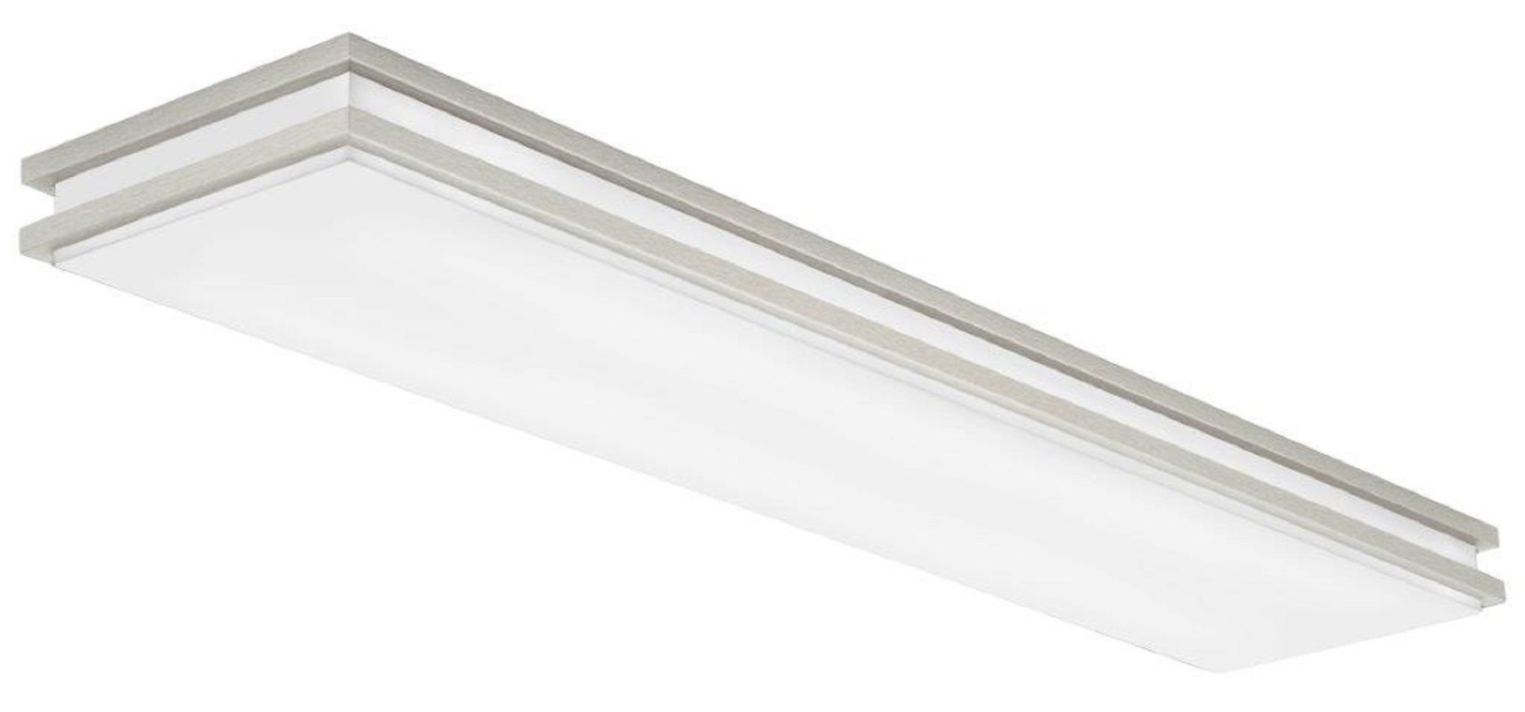 Lithonia lighting fmfl 30840 satl bn 10 flush mount 4000k led lithonia lighting fmfl 30840 satl bn 10 flush mount 4000k led ceiling fixture brushed nickel mozeypictures Image collections