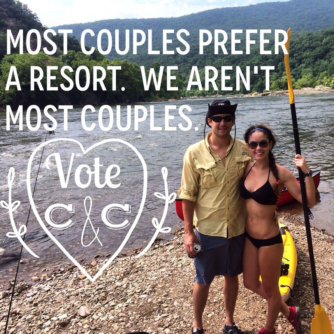 "PLEASE help us win our dream wedding by voting ""Courtney & Caleb""!!!   VOTE HERE--> http://www.magnoliaplantation.com/events/wedding_giveaway.html  #votecandc #votedaily #sharingtheromance #magnoliaplantation"