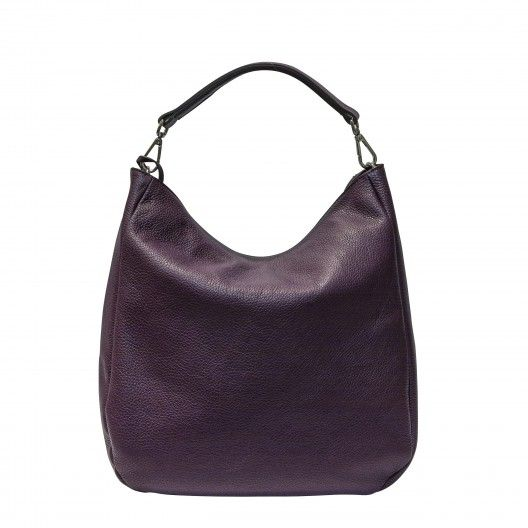 GIANNI CHIARINI BAG BS3251 Bordeaux Large leather shoulder bag. Zipped main closure, leather adjustable strap, inside zippered pocket. Made in Italy #giannichiarini #madeinitaly #madeinitalybags #bags #handbags