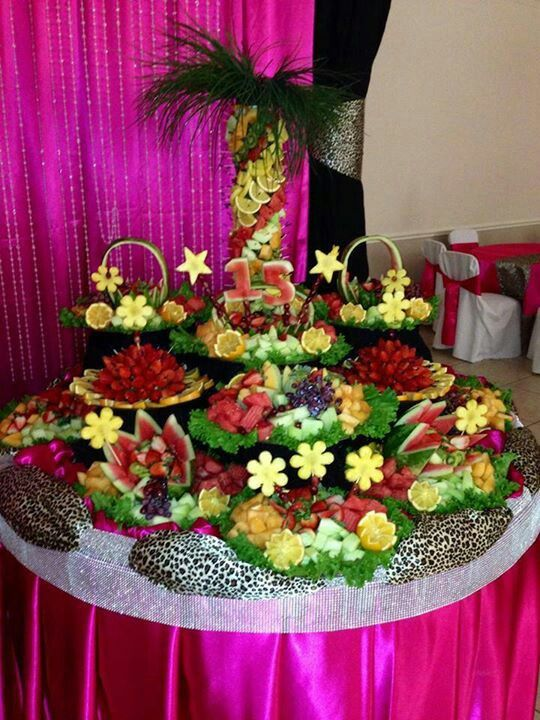 Beau Incredible Fruit Table