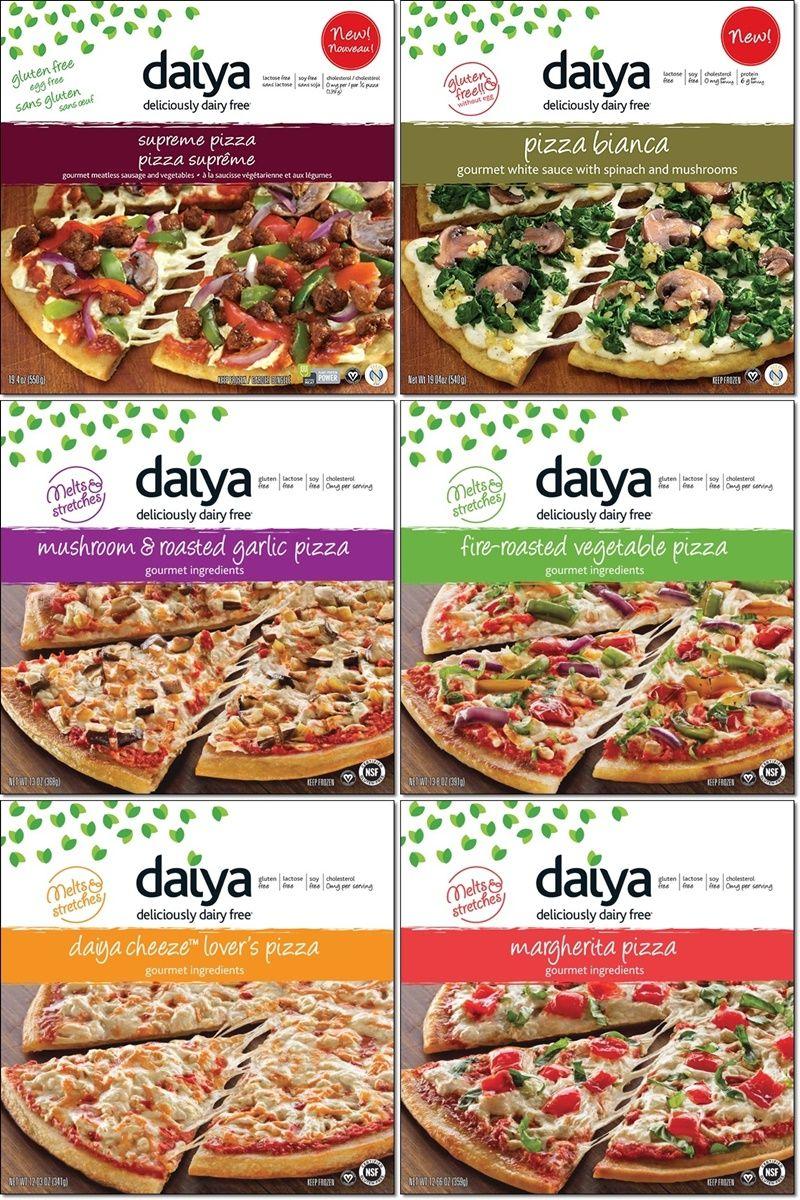Daiya Dairy Free Frozen Pizzas Review Info Vegan And Gluten Free Dairy Free Frozen Pizza Dairy Free Cooking Vegan Frozen Pizza