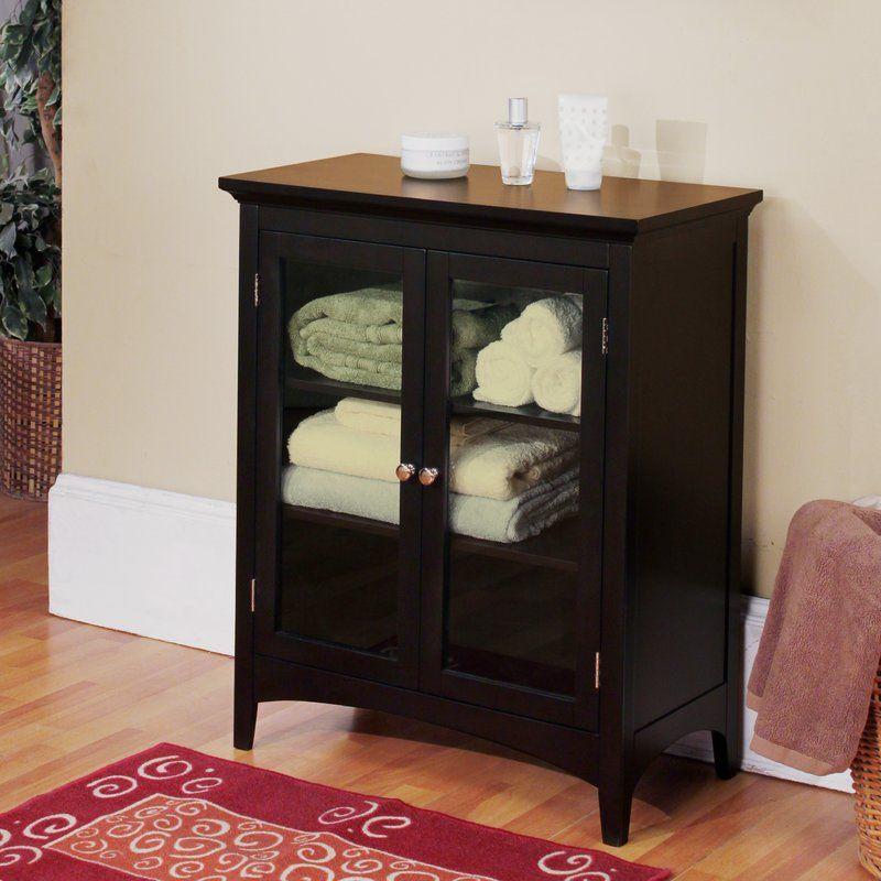 25+ Black bathroom storage cabinets free standing type