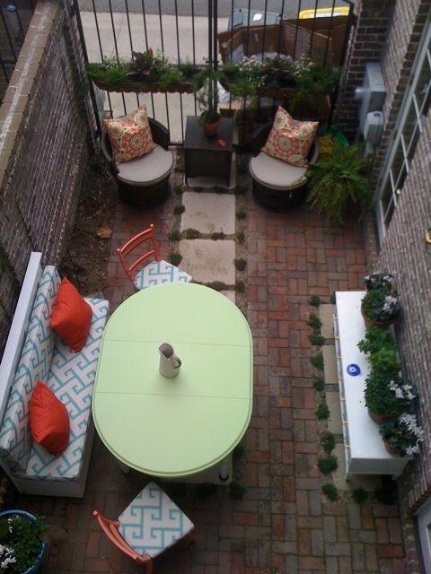 Brick/Concrete for small urban courtyard  from http://www.rashoncarraway.com