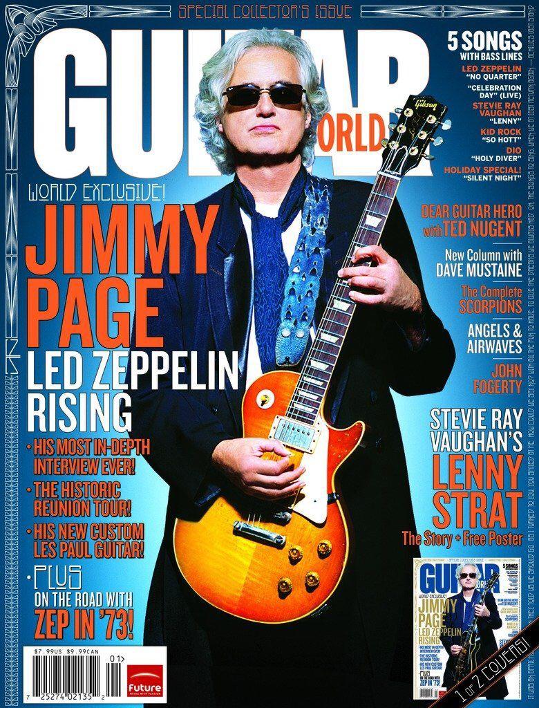 190 Twitter Led Zeppelin Guitar Guitar Magazine