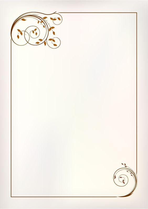 simple ornament frame vector material 01 | Marcos para fotos | Pinterest