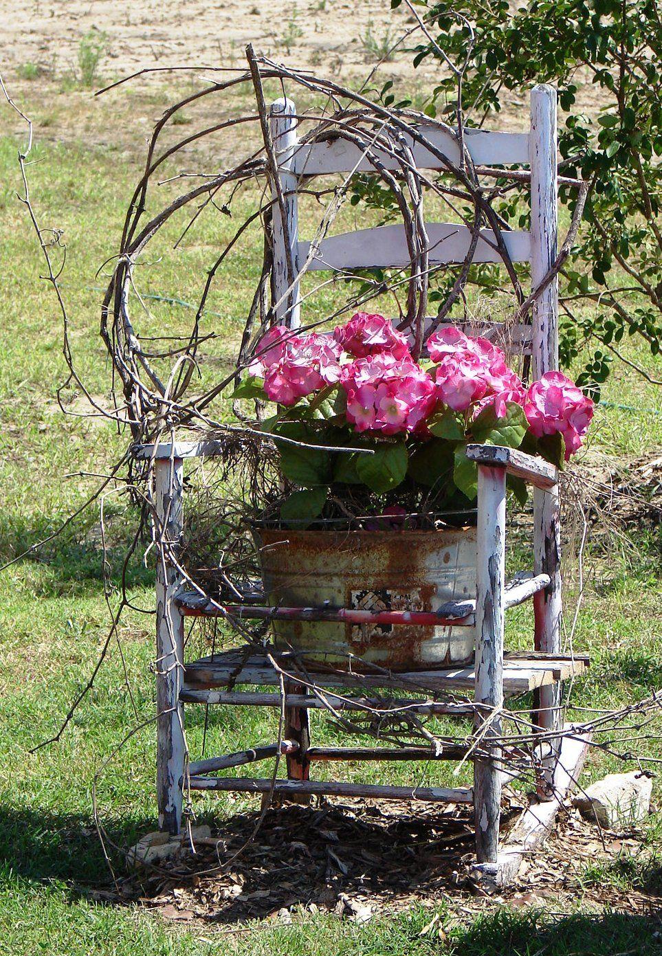 Pin De Crystal Courville En Garden Pinterest Jard N Y Decoraci N ~ Macetas Originales Para El Jardin