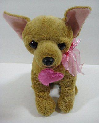 Chihuahua Valentine Puppy Dog Heart Walmart 8 Plush Stuffed Toy