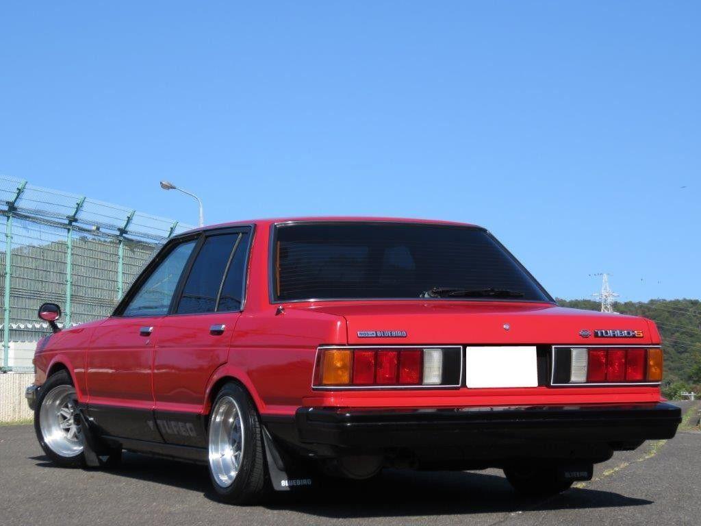 ブルーバード お前の時代だ 910ブルーバードsssターボs赤 黒5速マーク 車高調zプラスzero ハチマル80 ブルーバード 車 画像 ブルーバードsss