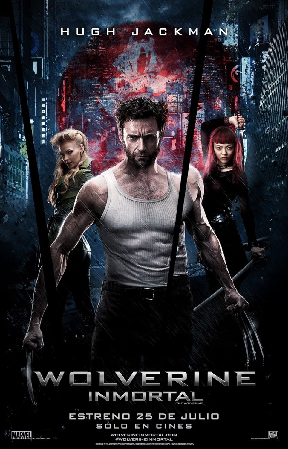 Extra Large Movie Poster Image For The Wolverine Met Afbeeldingen