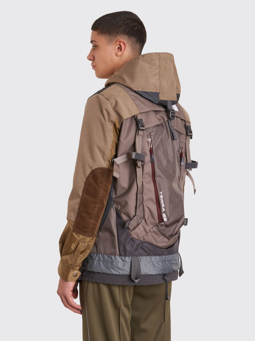 Junya Watanabe X The North Face Backpack Jacket In Beige S S 2018 Backpacks North Face Backpack The North Face [ 1096 x 822 Pixel ]