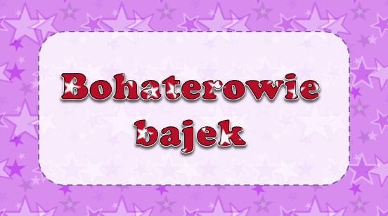 Check out this #Kahoot called 'Bohaterowie bajek' on @GetKahoot. Play it now! https://play.kahoot.it/#/k/beb2946c-319c-4b00-aa18-e597fb5eb997