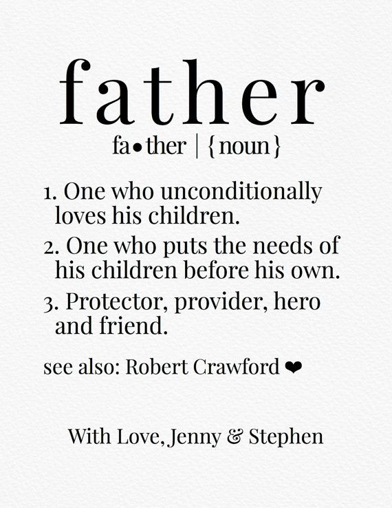 Definition of Father Dictionary Print Father by ...