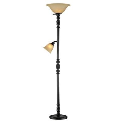 Captivating Hampton Bay   Torchiere Style M/D Floor Lamp   14850   Home Depot Canada