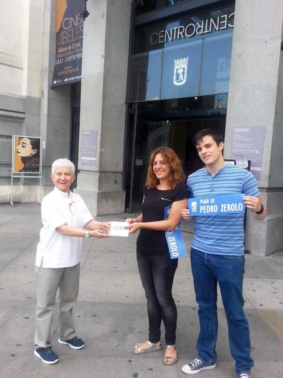 Victoria ciudadana logra que Pedro Zerolo tenga una plaza en Madrid
