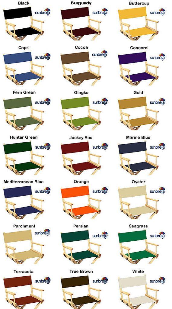 Groovy Sunbrella R Directors Chair Replacement Covers Round Stick Machost Co Dining Chair Design Ideas Machostcouk