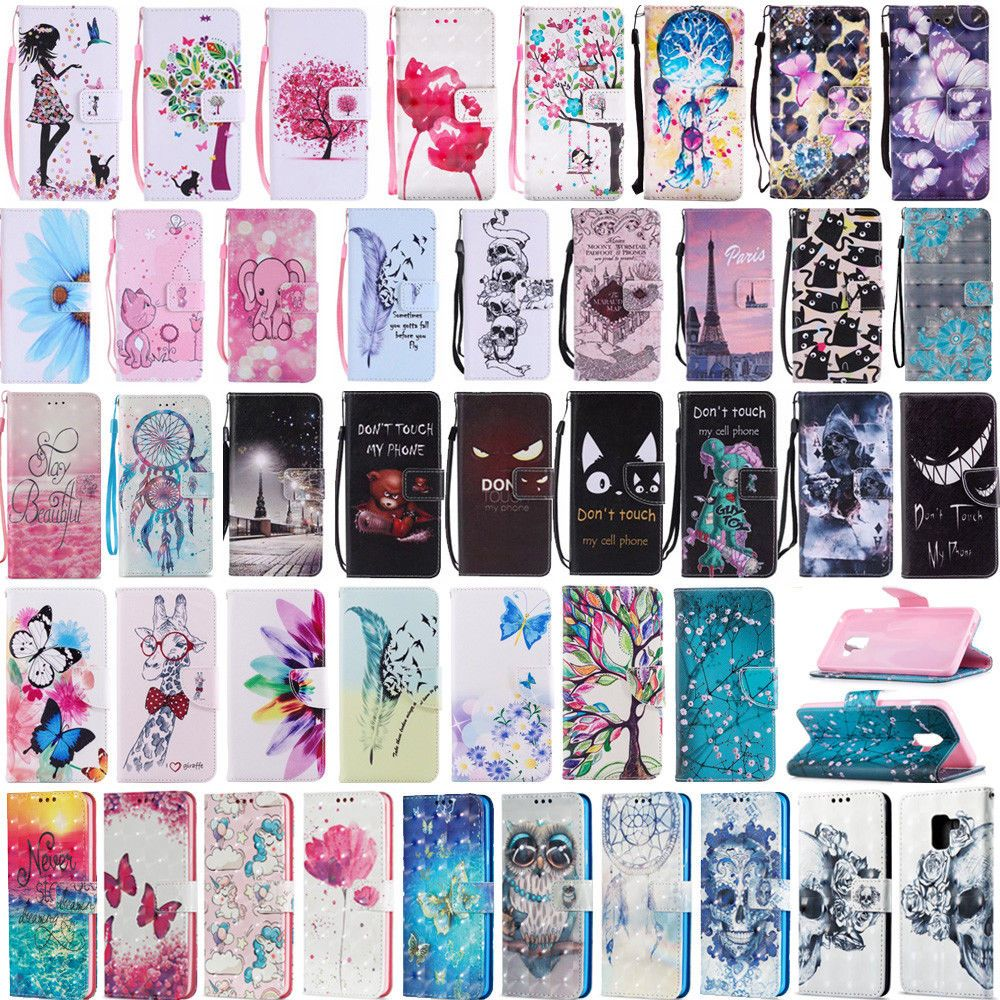 best service 1e3ae e0ef6 2.25 GBP - For Samsung Galaxy A8 / A8 Plus 2018 Stand Card Holder ...