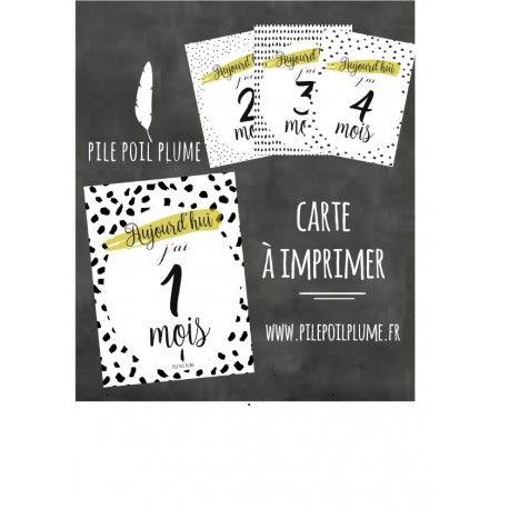 carte etape bebe a imprimer gratuit CARTE MOIS APRES MOIS BEBE HomeTélécharger gratuitement les cartes