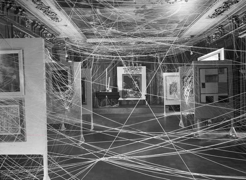 john d schiff installation view of first papers of surrealism john d schiff installation view of first papers of surrealism exhibition showing marcel duchamp s
