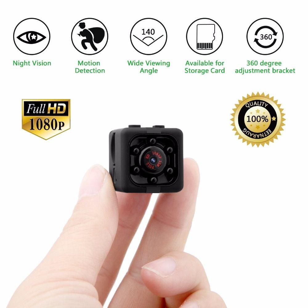 Motion Detect Home//Office Mini Surveillance Hidden HD 720p Camera DV USED